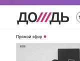 """Телеканал """"Дождь"""" исключили от президентского пула за неправильную журналистскую деятельность"""