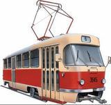В Перми трамвай столкнулся с грузовиком, движение на участке остановлено