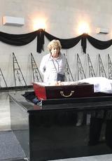 Вячеслав Малежик, Лариса Рубальская и Юлия Ариничева простились с Сергеем Березиным