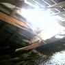 В Уфе во время ночной уборки снега рухнула крыша пятиэтажки (ВИДЕО)