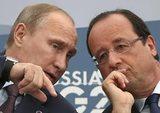 Путин встретится с Олландом в Москве 26 ноября