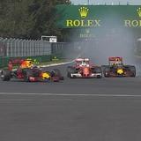 Ферстаппену и Феттелю не хватило места на подиуме Гран-при Мексики