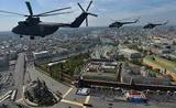 Вертолёты Медведева, севшие посреди Москвы, взбудоражили соцсети