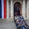 Во Франции прошла церемония прощания с Жаком Шираком