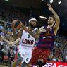 Евролига: Локомотив упустил инициативу в борьбе за финал четырех
