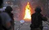 В Боснии протестующие подожгли президентский дворец