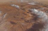 В пустыне Сахара второй раз за зиму выпал снег