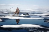 В Татарстане полсотни рыбаков оказались на оторванной льдине