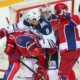 КХЛ: Магнитка сравняла счет в поединке с ЦСКА
