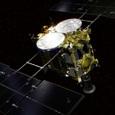Японский космический зонд Hayabusa 2 приземлился на поверхность астероида Рюгу