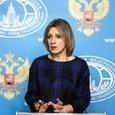 """Захарова назвала обвинения Мэй в адрес России """"безответственными и безосновательными"""""""