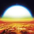 Астрономы обнаружили планету с «железными» и «титановыми» облаками