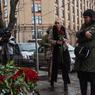 Вице-губернатор Кузбассана коленях попросил прощения у кемеровчан за трагедию в ТЦ