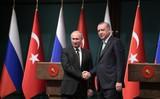 Путин поздравил Эрдогана с победой на выборах