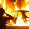 В Пскове неизвестные устроили поджог автомобиля полицейского