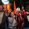 В Стамбуле снова демонстрация и слезоточивый газ