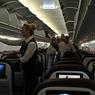 Стюардесса выпала из самолёта в московском аэропорту