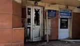 В Калуге неизвестные взорвали дверь отделения Пенсионного фонда