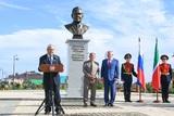 Бронзовый бюст Героя Труда России Шаймиева установлен на его родине