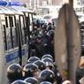 ТАСС: 200 человек задержаны на Манежной площади в Москве