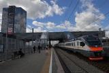 В башкирской столице с рельсов сошел поезд