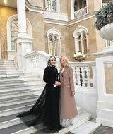 Навка, Тимати, Рудковская, Бондарчук посетили модный показ Кадыровой