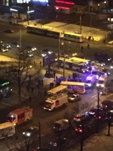 ДТП с участием маршруток произошло в Петербурге, три человека  в тяжелом состоянии