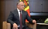 Додон сообщил о полученной Молдавией скидке на российский газ