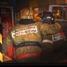 На строительном рынке «Мельница», на 41-м километре МКАД, произошел пожар