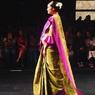 В Индии супермодель вышла на подиум беременной