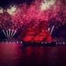 Тысячи Ассолей и Греев встретили «Алые паруса» в Петербурге
