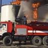 На нефтебазе под Киевом пожар возобновился с новой силой