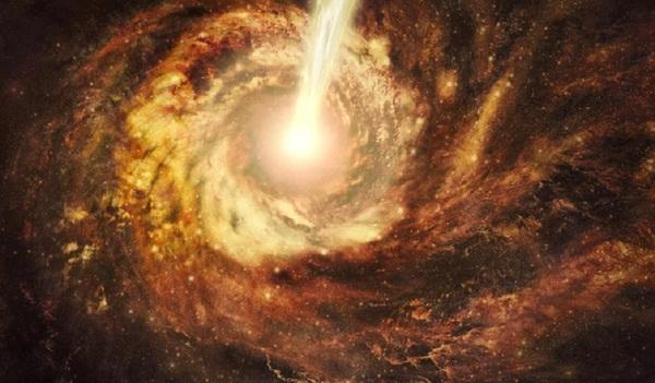 Астрономы получили загадочный сигнал из далекой галактики