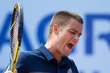 Теннисист Южный разбил себе голову ракеткой и отказался от игры (ВИДЕО)