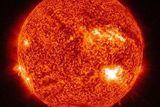 """Астрономы NASA засняли """"элегантную"""" вспышку на Солнце (ВИДЕО)"""