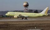 Появилось видео испытаний нового пассажирского лайнера МС-21-300