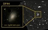 Решена загадка странной галактики, состоящей на 99,9% из темной материи