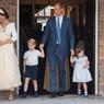 Появились официальные кадры с крестин младшего сына Кейт Миддлтон