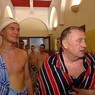 Жириновский в бане поблагодарил «евродурачков» за санкции