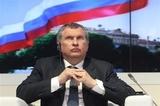 """Игорь Сечин останется во главе """"Роснефти"""" еще на пять лет"""