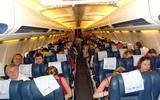 Минтранс: пассажиры не пользуются в самолёте телефонами и ноутбуками