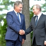 Путин встретился в Сочи с президентом Финляндии