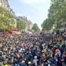 В Париже первомайские демонстрации переросли в беспорядки