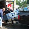 Убегающие грабители с банкоматом задержаны под Тулой