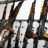 В знак дружбы Россия подарила Афганистану 10 тысяч автоматов Калашникова