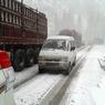 В аэропорту Внуково выпал первый снег (ВИДЕО)