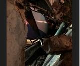Появилось фото поезда, пробившего стену московского метро