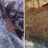 """Специалисты выясняют происхождение """"кровавой"""" реки под Тюменью"""