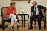Переговоры Путина и Меркель продолжались около 2,5 часов