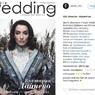 Виктория Дайнеко появилась на обложке свадебного журнала